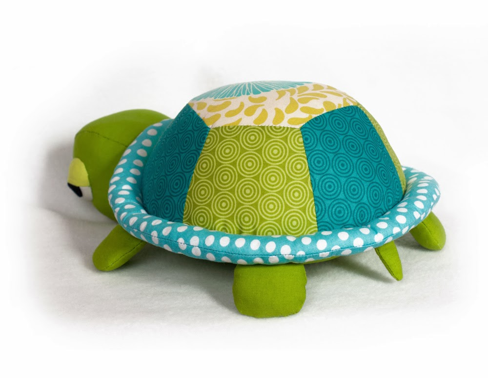 Toy Patterns By Diy Fluffies Turtle Tortoise Toy Sewing Pattern