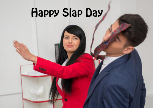 Slap Day Sorry Whatsapp Status DP