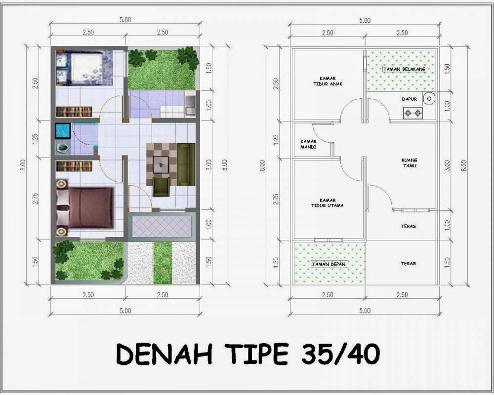 Model Rumah Minimalis Ukuran 5x10 Wallpaper Dinding