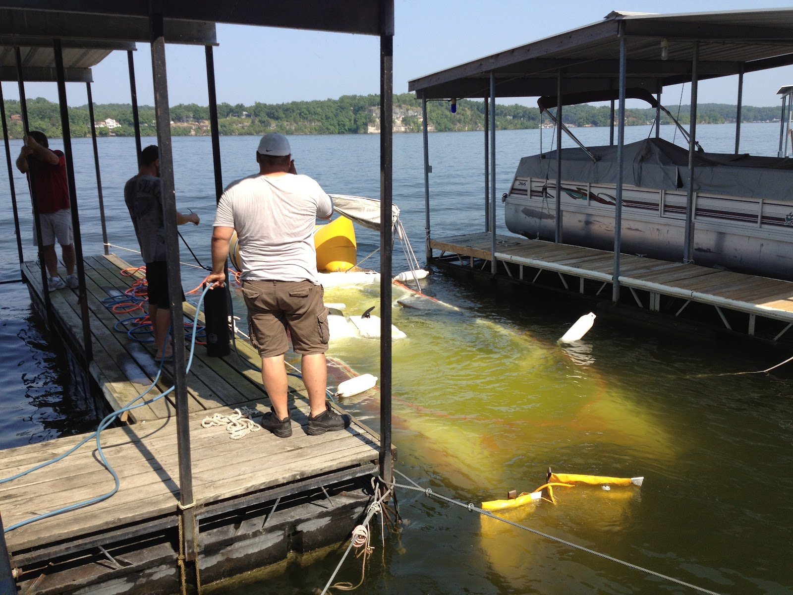 TowboatU S Lake Ozark Marine Towing & Salvage ROUGH WATER WOES