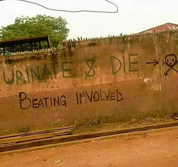 Check out the hilarious sign seen in Benin today