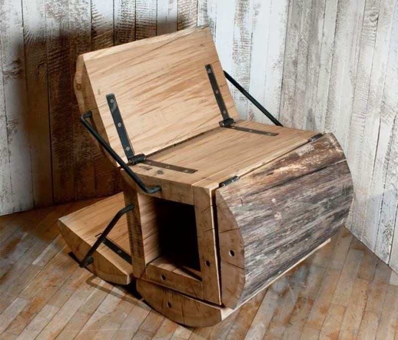 Weirdwood The Waste Less Chair By Architecture