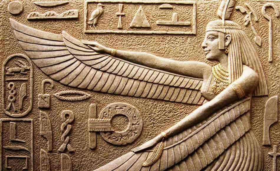 Ma'at, Mısır Tanrıçaları, mitoloji, mısır mitolojisi, A, Eski Mısır'da denge tanrıçası, Ölüler kitabı, Nun, Antik Mısır'da ölümden sonra,