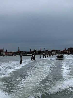 "water ""road"" from mainland Italy to Venice"