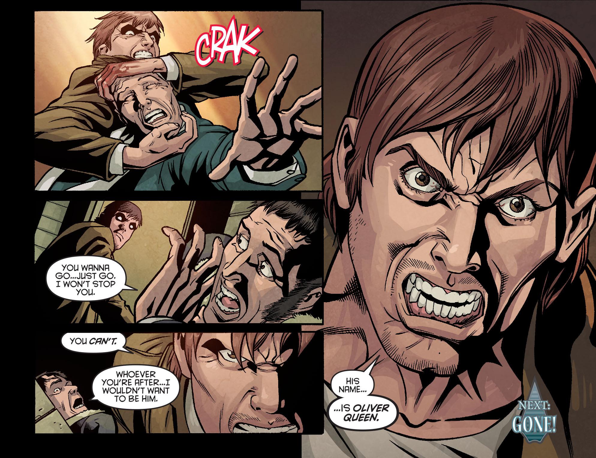 Read online Arrow: Season 2.5 [I] comic -  Issue #9 - 20