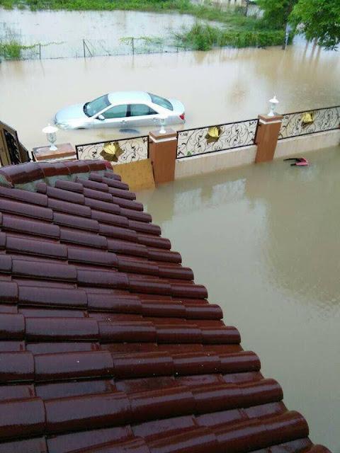 Banjir Pulau Pinang semakin teruk akibat hujan berpanjangan