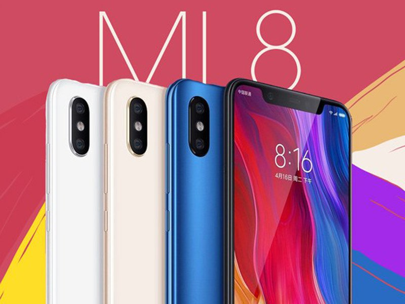 xiaomi mi 8 with miui 10 and android pie