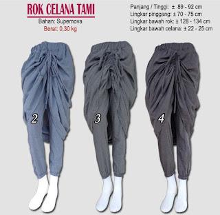 rok celana 2 in 1 model kerut terbaru yang menawan