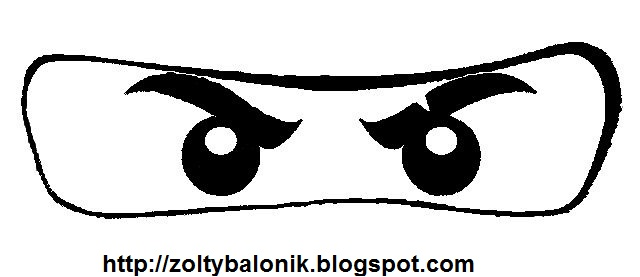 picture relating to Printable Eyes Template known as Totally free Printable Ninja Eyes. - Oh My Fiesta! for Geeks