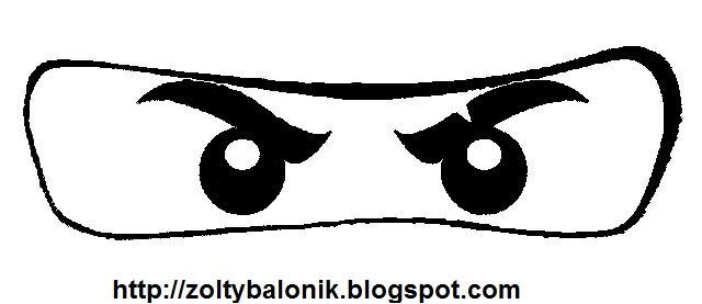 Ojos Ninja imprimibles. | Ideas y material gratis para fiestas y ...