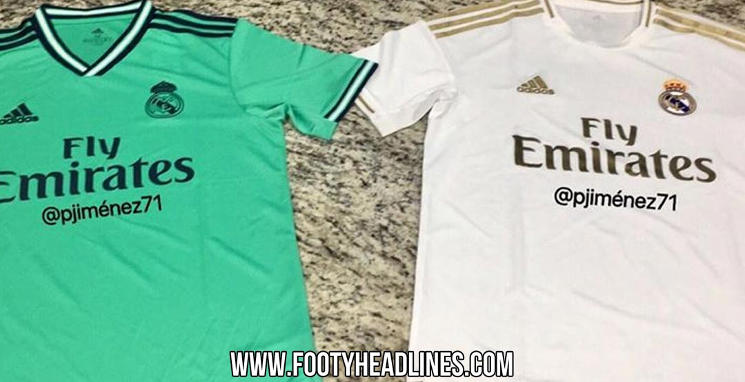 huge selection of c6891 87a4c Real Madrid 19-20 Home, Away & Third Kits Leaked - Release ...