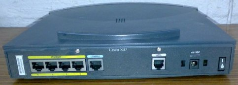 Cara Setting PPPoE Pada Modem ADSL Cisco 837