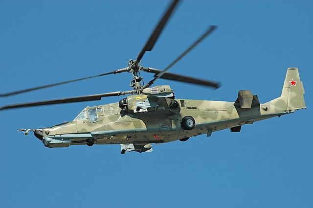 Gambar 02. Foto Helikopter Tempur Kamov Ka-50 Black Shark