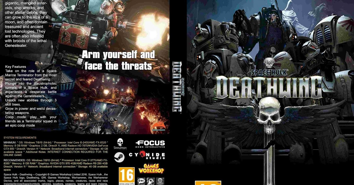(Denys182) Jual PC Games Murah: Space Hulk - Deathwing - 4 DVD