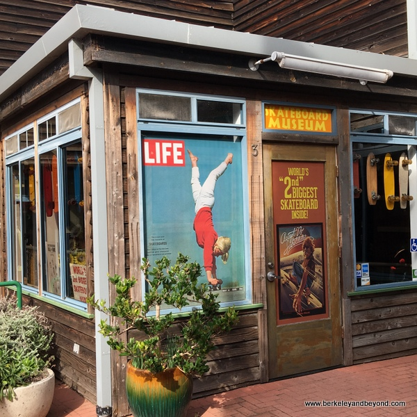exterior of Morro Bay Skateboard Museum in Morro Bay, California