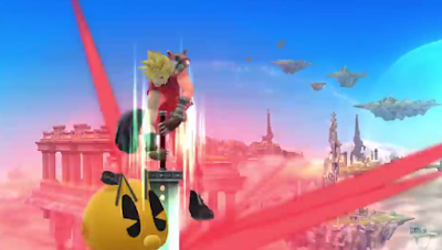 Cloud Strife DLC Super Smash Bros. For Wii U Pac-Man spike