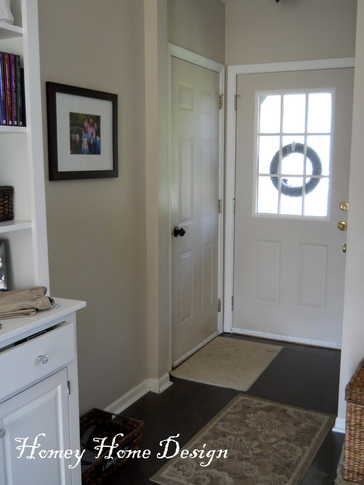 Homey Home Design Christmas In The Bathroom: Homey Home Design: Entryway Update And A Few Fun Projects