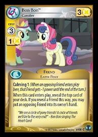 My Little Pony Bon Bon, Caroller Defenders of Equestria CCG Card