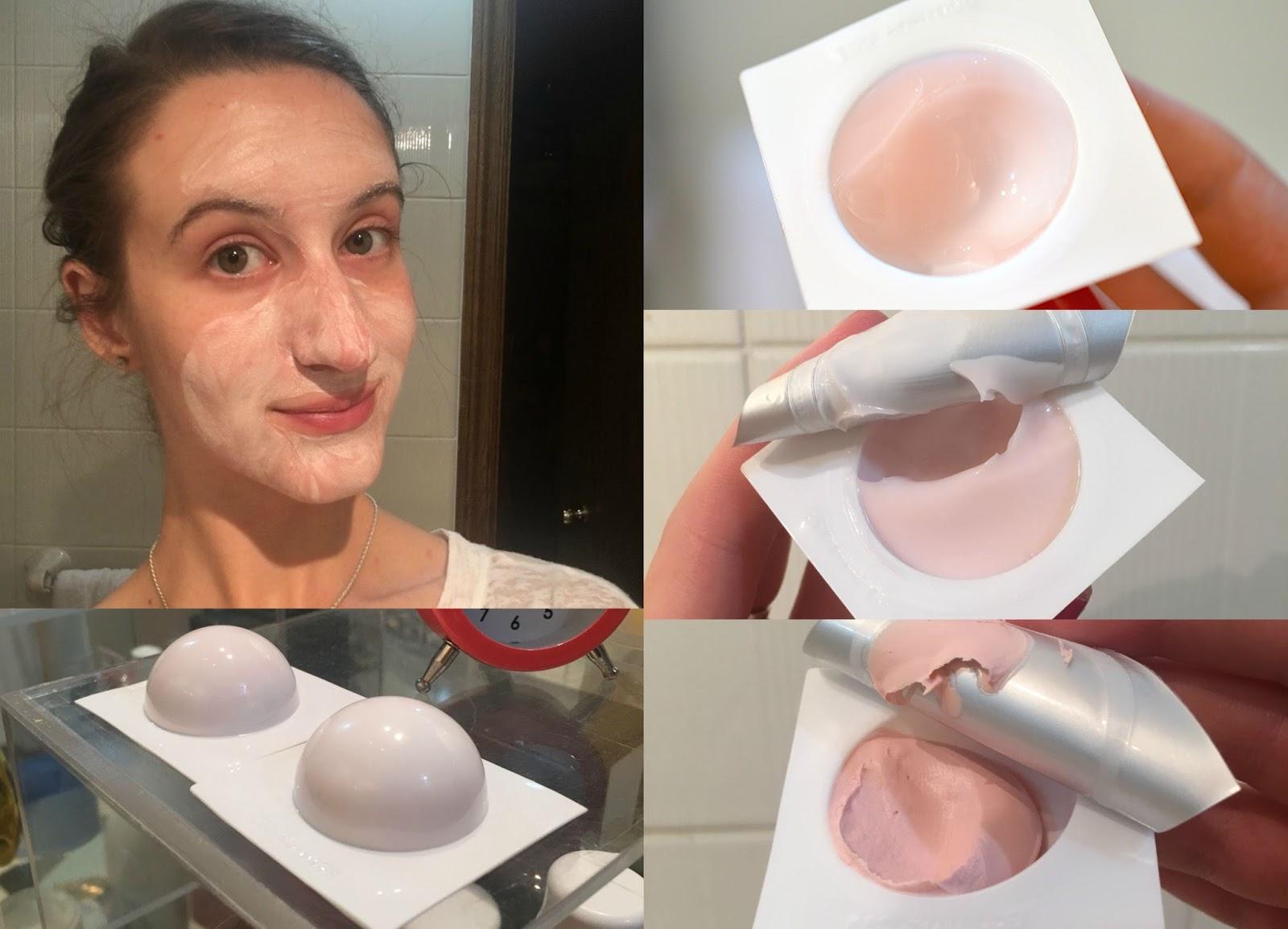 Peony Face Mask