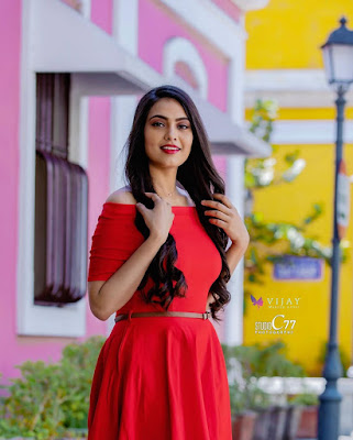 Eeramana Rojave Serial Actress Pavithra janani Latest photos