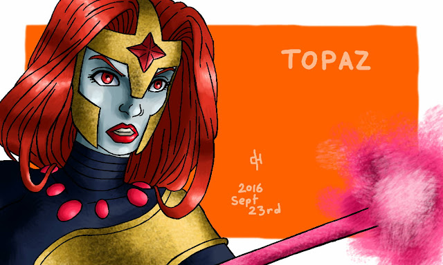 Marvel, Topaz