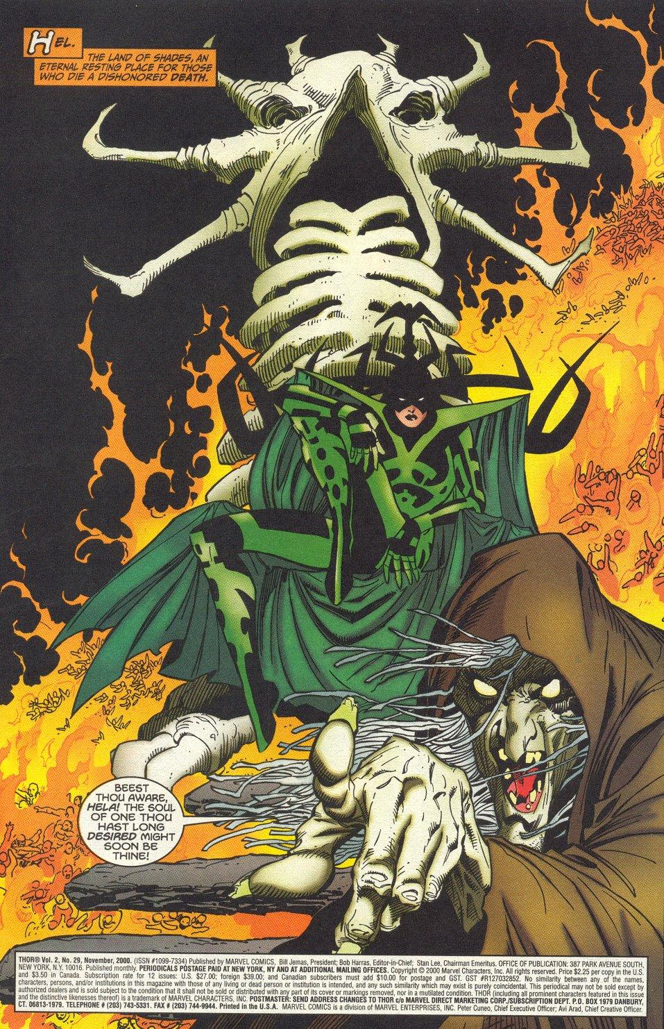 Thor (1998) Issue #29 #30 - English 2