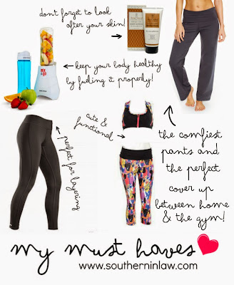 My Winter Healthy Living Must Haves 2015