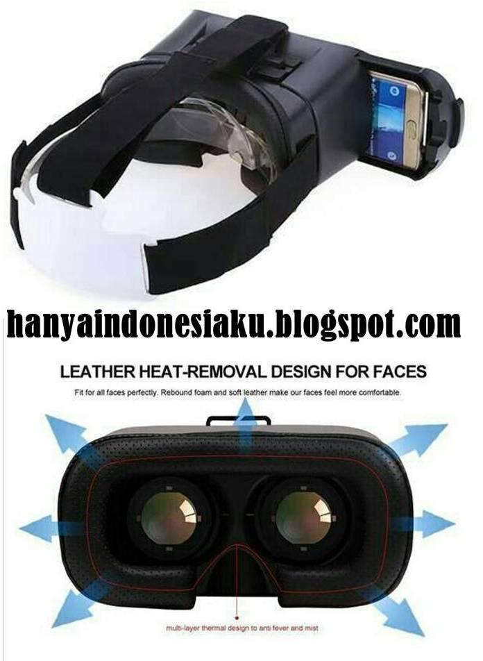 Kacamata Virtual Reality VR 3D Box Untuk Semua