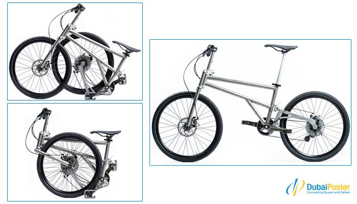 Dubaiposter Uae All New Fascinating Folding Xiaomi Bike