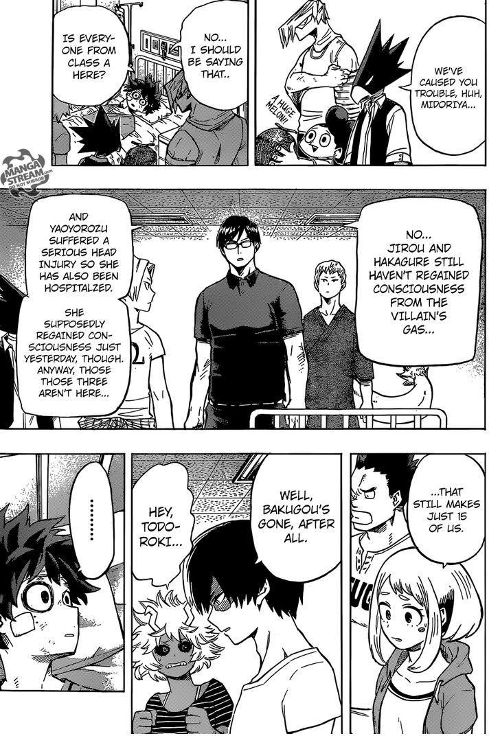 Boku no Hero Academia - Chapter 95