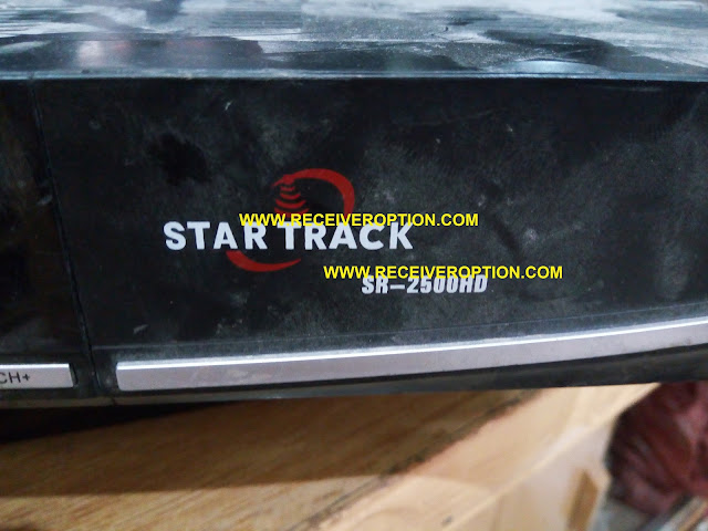 STAR TRACK SR-2500HD RECEIVER BISS KEY OPTION