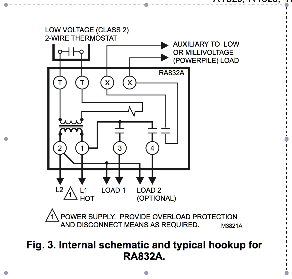 ra832a honeywell zone system wiring diagram for 2 my insteon 2441 thermostat