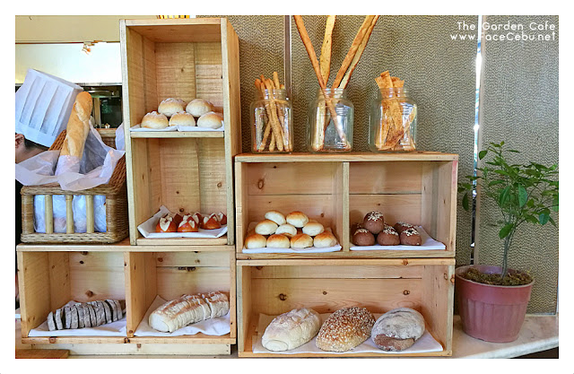Bread Station at the Garden Cafe
