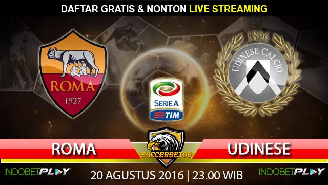 Prediksi Roma vs Udinese 20 Agustus 2016 (Liga Italia)