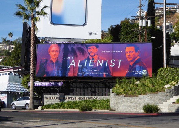Alienist series premiere billboard