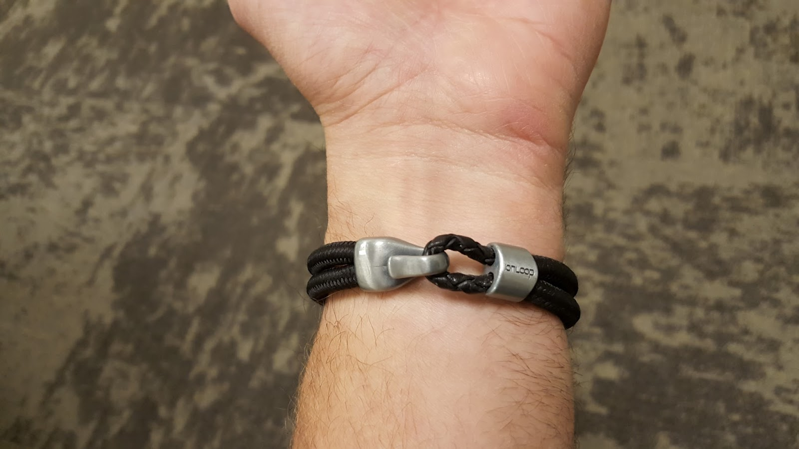 I Got To Test Out The Dual Cord Bracelet It Has Two Nylon Cords That Are Loaded With Negative Ions And Ful Magnets There Is A Leather Loop