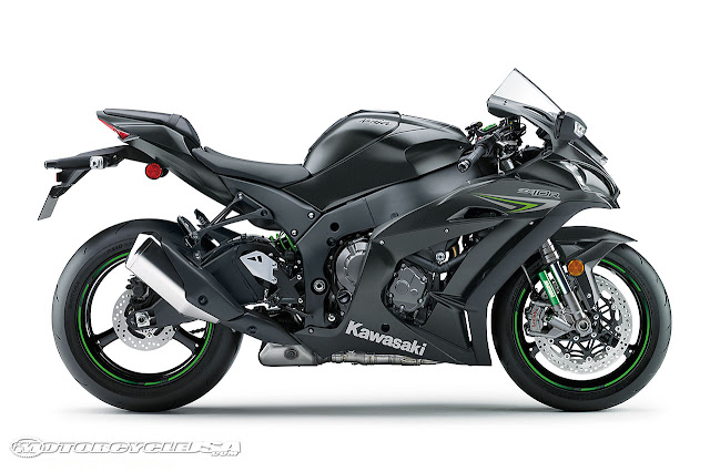 Kawasaki ZX-10 black color