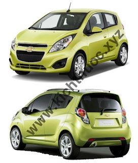 thong so kich thuoc xe chevrolet spark