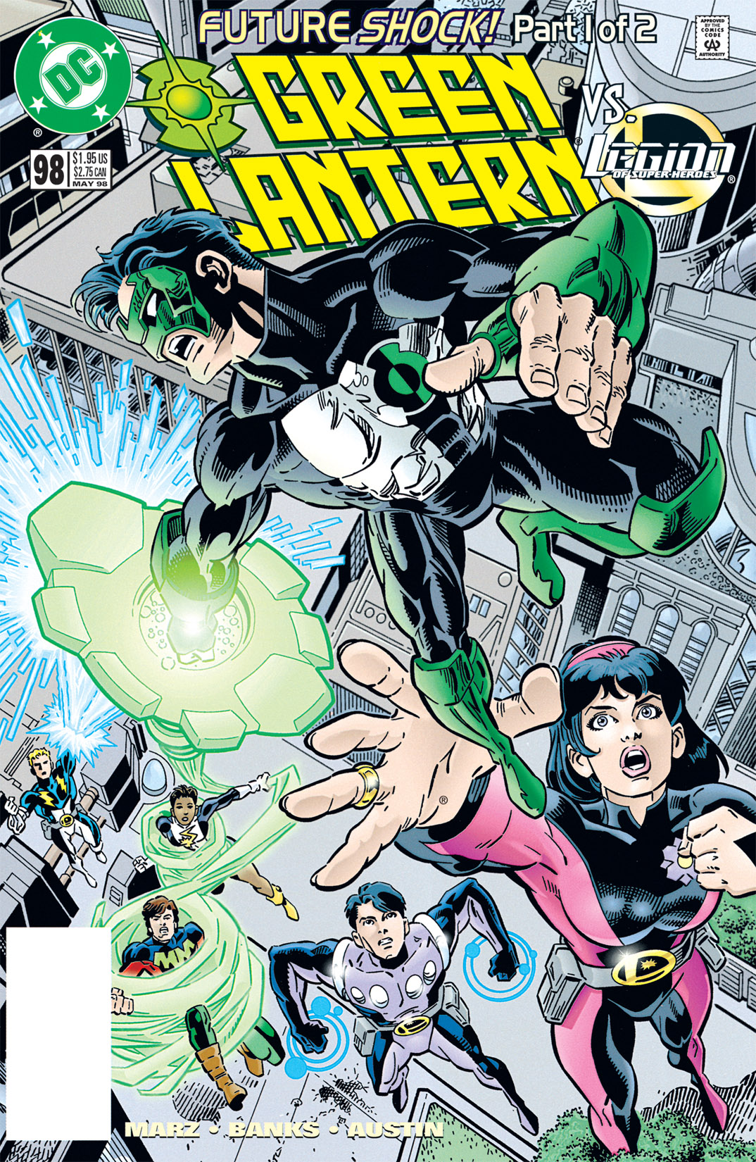 Green Lantern (1990) 98 Page 1