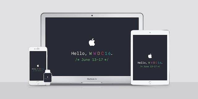 #320 Keynote WWDC 2016
