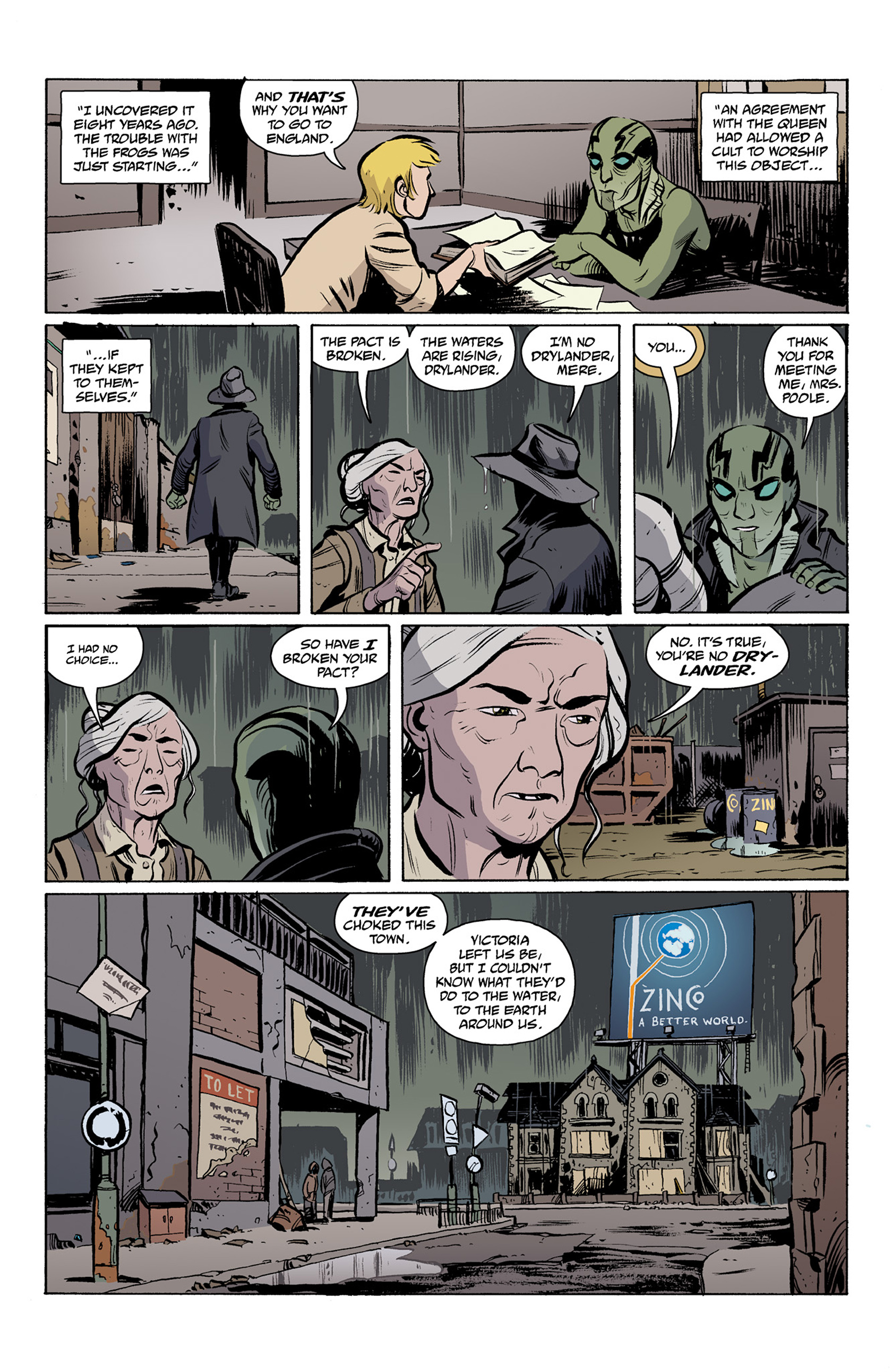 Read online Abe Sapien comic -  Issue #25 - 11