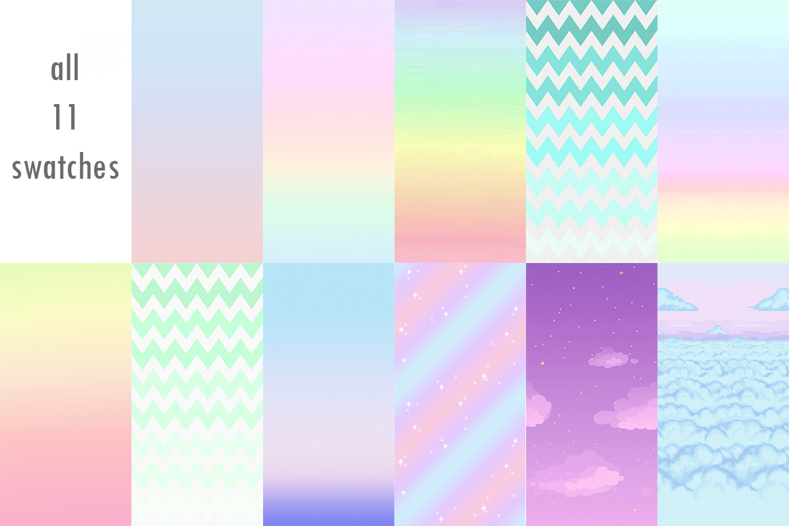 My Sims 4 Blog Ombre And Pastel Wallpaper By Lisztomaniacc