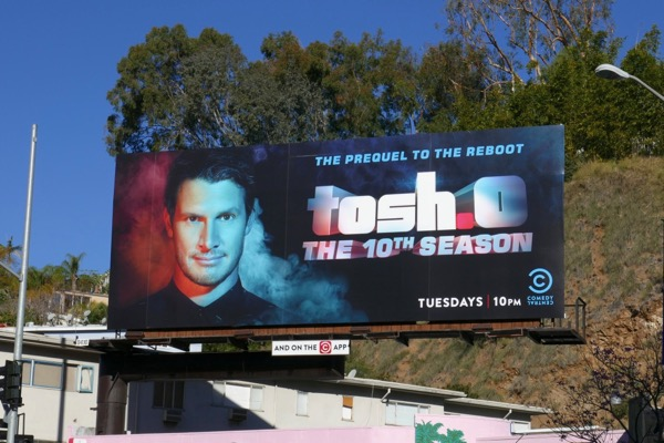 Tosh season 10 billboard