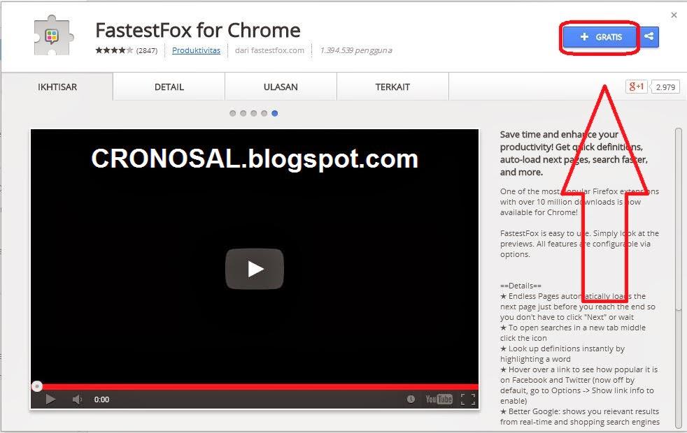 Cara Mempercepat Google Chrome dengan Ekstensi