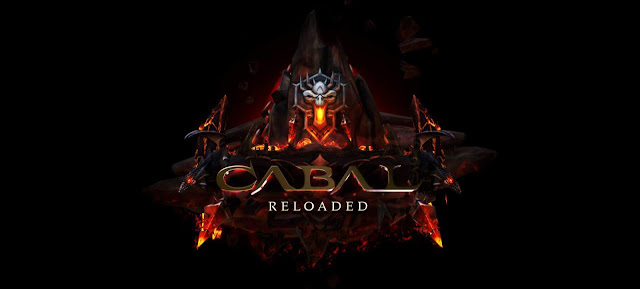 New Login Screen featuring CABAL Reloaded