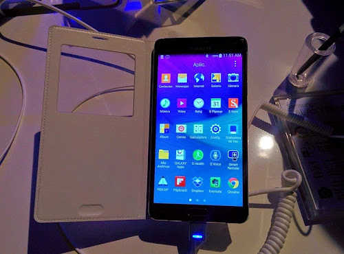 SAMSUNG GALAXY NOTE 4 CON ENTEL