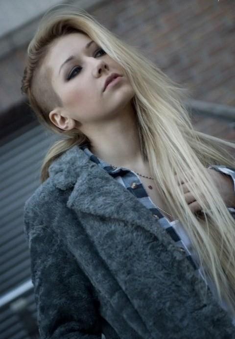 Peinados Para Lado Rapado - Más de 1000 ideas sobre Pelo Rapado en Pinterest Flequillos Corte
