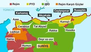 Τουρκία σύνορα με τη Συρία