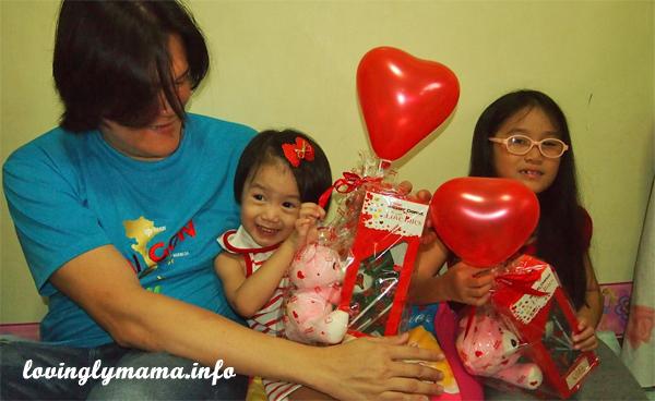 Mister Donut Valentine gifts