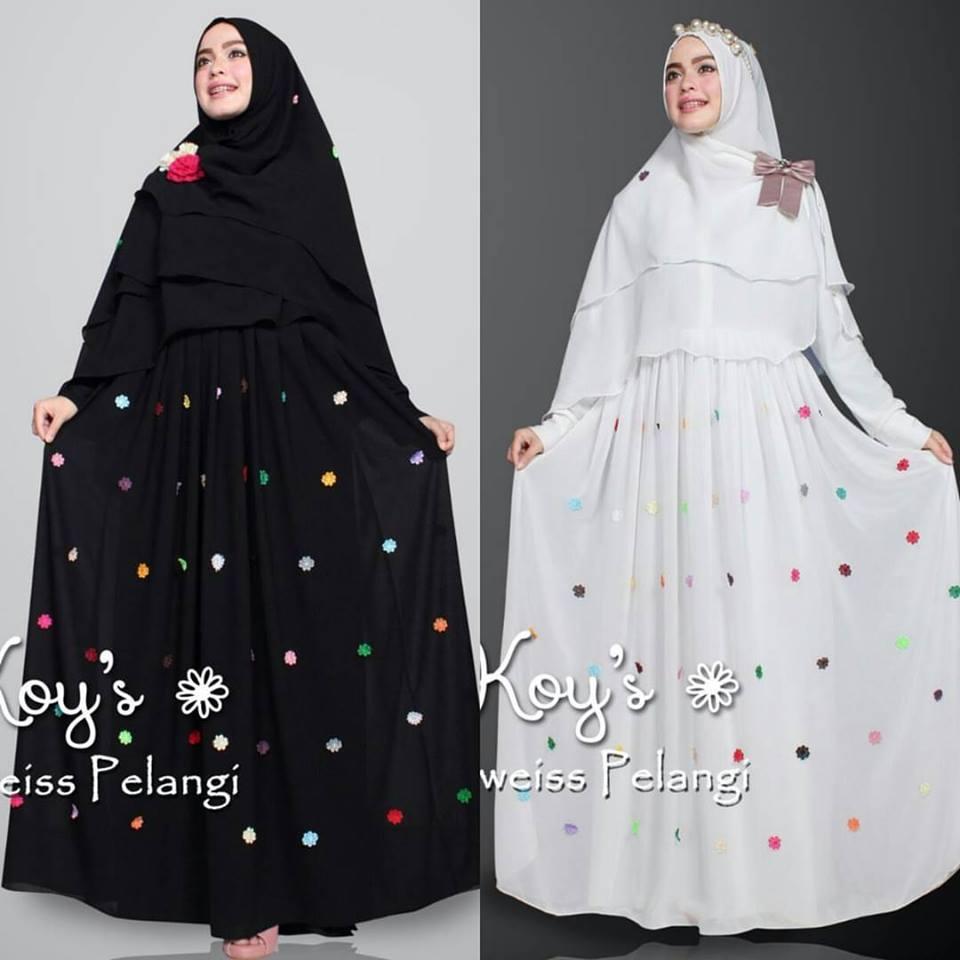 Jual Baju Hijab Bandung Edelweiss Pelangi By Koy 39 S